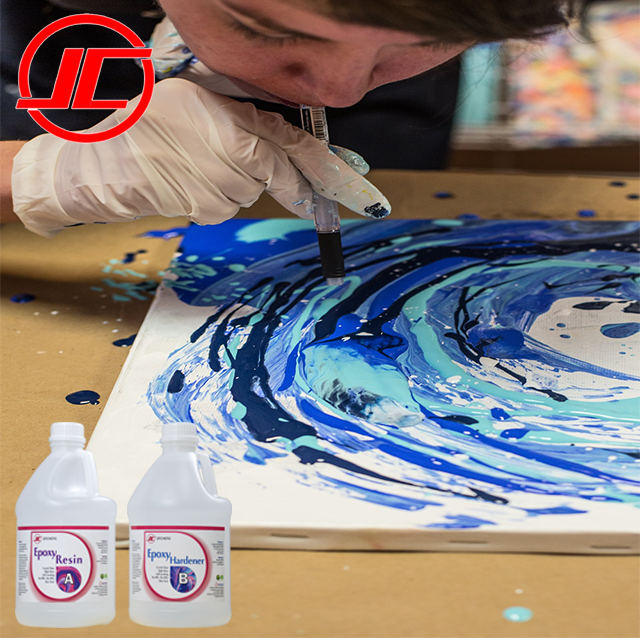 clear epoxy resin for Pinterest Galaxy Resin Art | Resin art painting, Resin art, Resin artwork